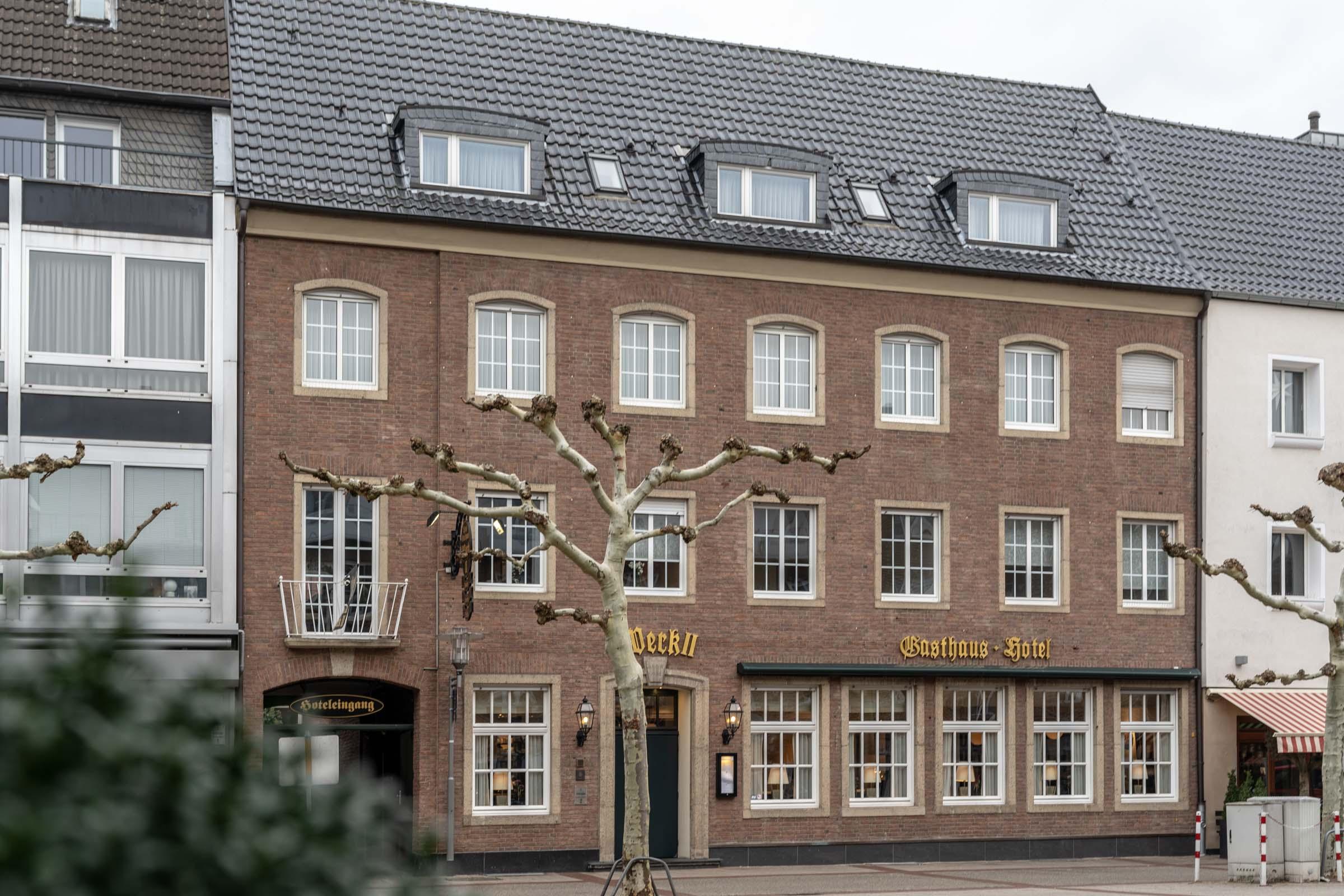 Hotel Werk 2 Bocholt Fassade