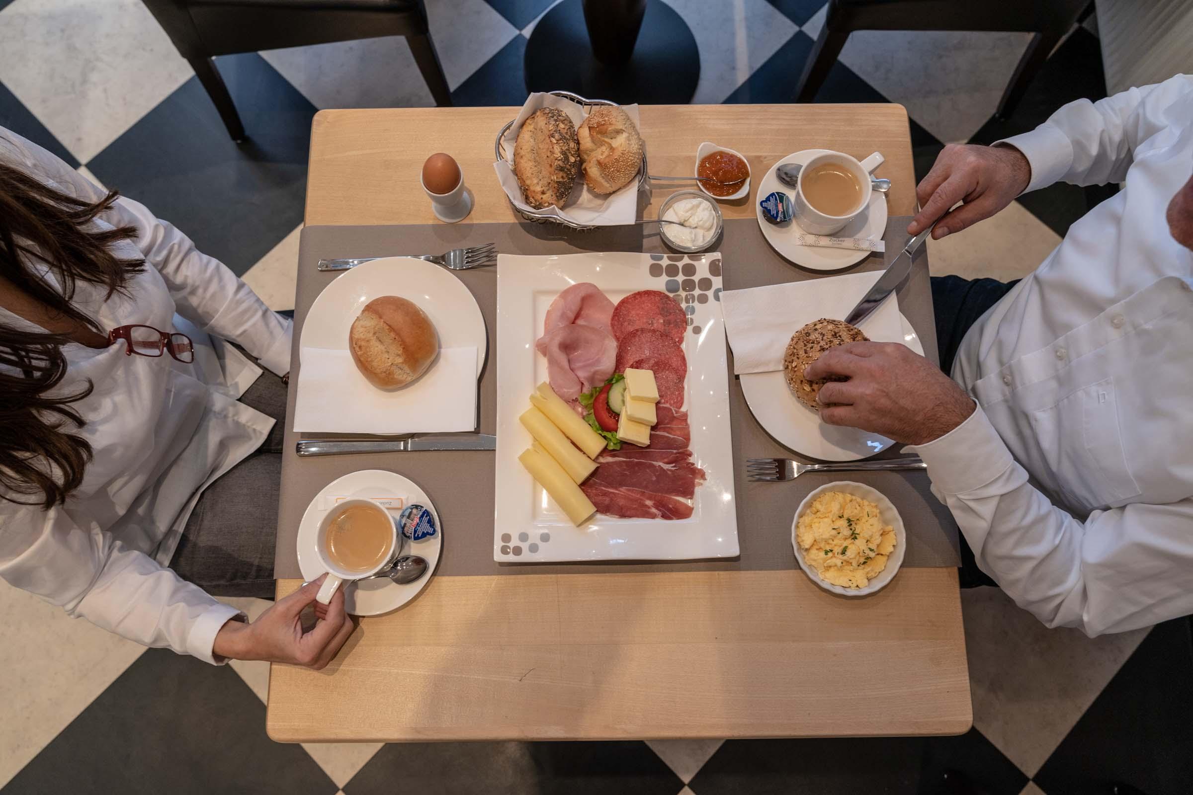 Hotel Werk 2 Bocholt Frühstück