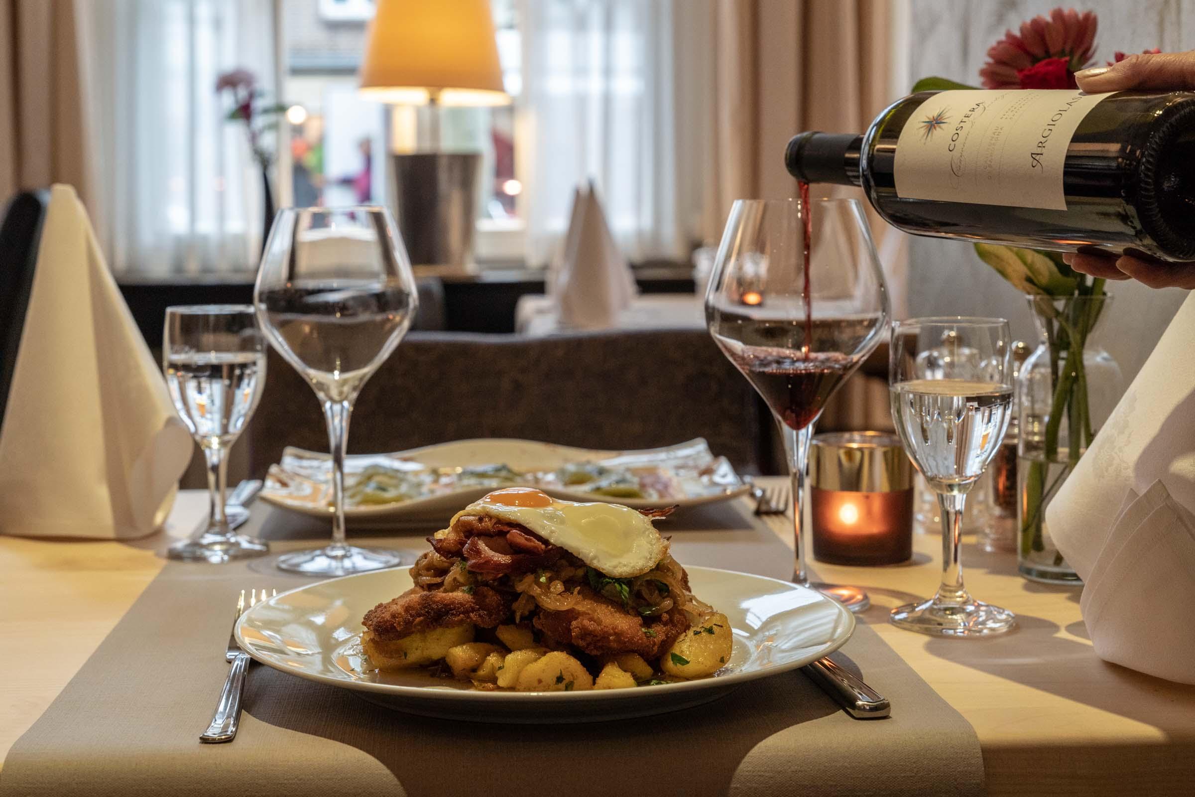 Hotel Werk 2 Bocholt Speisen